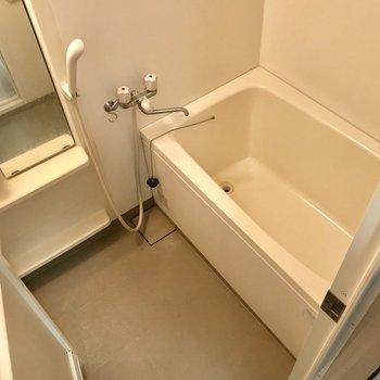 浴槽大きめで使い勝手が良さそう