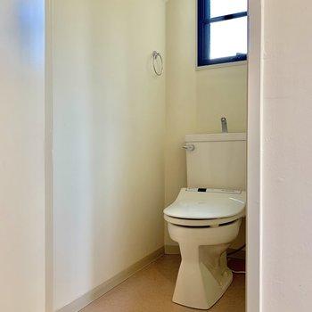 個室トイレです〜