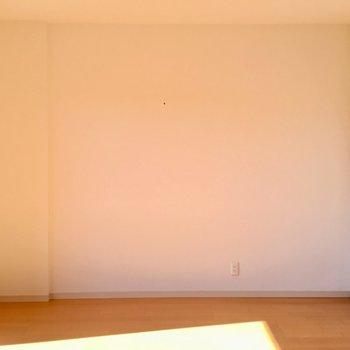 コンクリート壁がアクセントですね。※写真は3階同間取り別部屋のものです