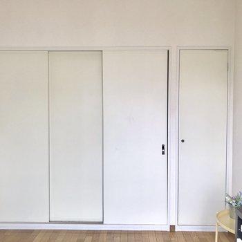 【洋室】スライドドアで幅取らず!