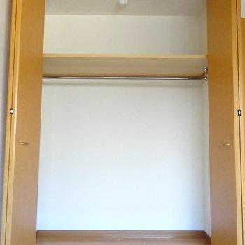 1階洋室の収納も大容量!