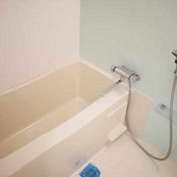浴室も統一されています!