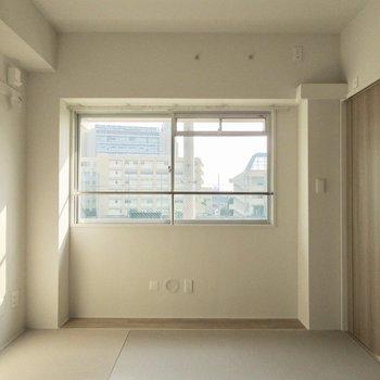 和室はモダンな内装です。
