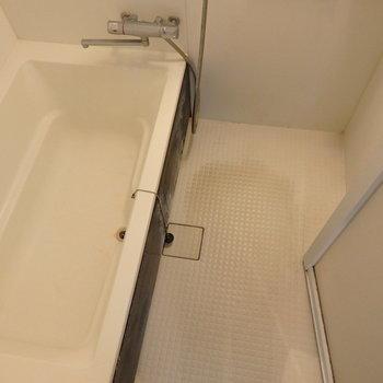 浴槽ものびのびして入れそうです