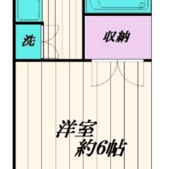 シンプルで機能的なお部屋ですよ