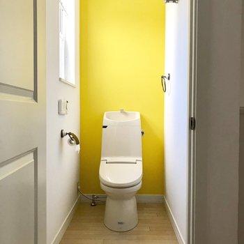 【下階トイレ】下にもあるの?!※写真は通電前のものです