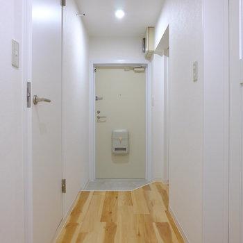 なが~い廊下
