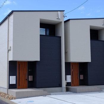 双子の建物です。