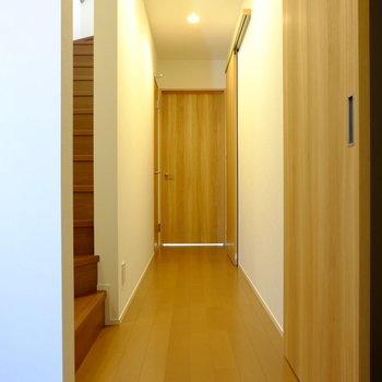 1階はお部屋が3つ。