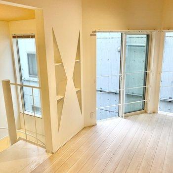 【3階】開放感を味わえる空間ですよ。※写真は前回募集時のものです
