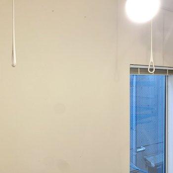 【2階】室内干しができるようですね。※写真は前回募集時のものです