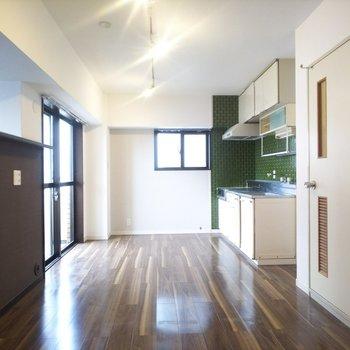 1つのお部屋、2つの空間