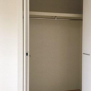 収納もたっぷり。※写真は3階の同間取り別部屋のものです