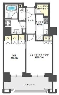 グランフロント大阪オーナーズタワー809号室 の間取り