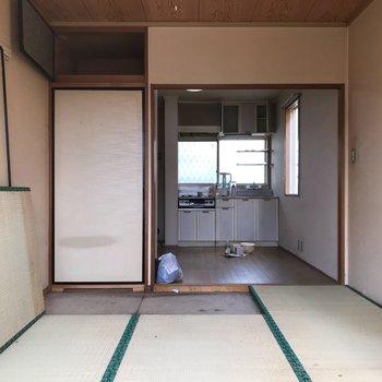 【工事前】和室は無垢床張りになります!