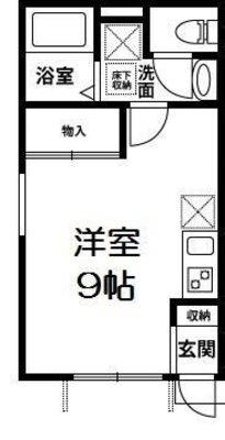 Rooms武蔵浦和 の間取り