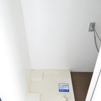 室内洗濯機置き場です。※写真は同間取り別部屋のものです。