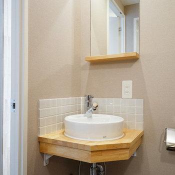 【イメージ】2階には小さな洗面台もつきますよ〜
