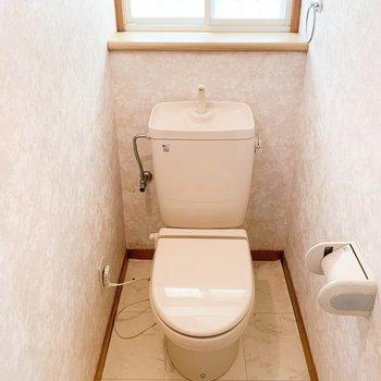 【工事前1F】こちらのトイレも、ウォシュレットが付きます!
