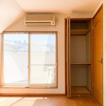 【工事前3F】扉横はオープン収納へ変わります。
