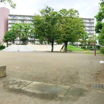 近くにあった公園。和む…