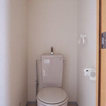 トイレは完全に分かれています。※写真は7階の似た間取り別部屋のものです