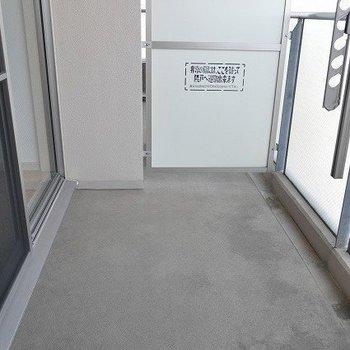 バルコニー部分※写真と文章は7階の似た間取り別部屋のものです