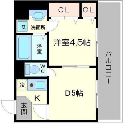 ヴァンルノワール新御堂(三菱地所)の間取り図