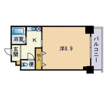 8.6帖って広々だな〜〜