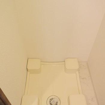 洗濯機置場はもちろん室内に