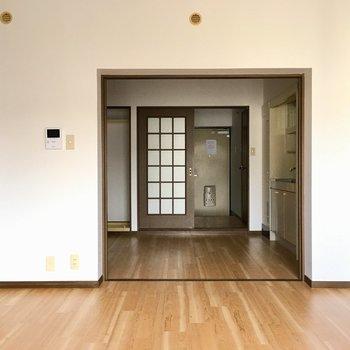 しとやかさを兼ね備えたお部屋です。※写真と文章は3階の反転間取り別部屋のものです