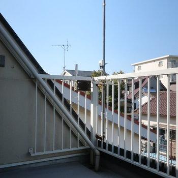 【3階】ルーフバルコニー!