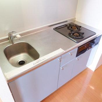 調理スペースも確保されています。