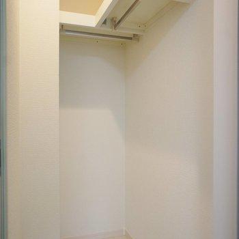 収納はウォークイン※写真は1階同間取り別部屋のものです