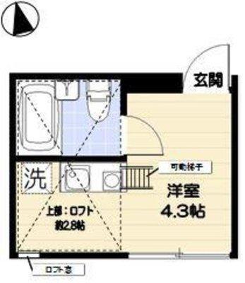R-STYLE竹ノ塚 1st の間取り