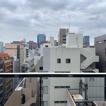 10階からの眺めです