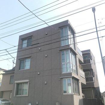 現代的なアパートですね