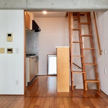 コンクリ&カイダン&ハシゴ!※写真は同建物同間取りの別部屋のものです