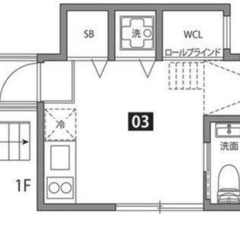 お部屋までは室外にある階段を上がります。