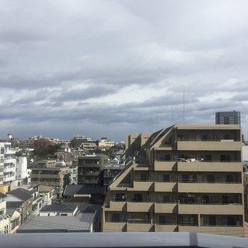 7階からの眺望、いいですね。
