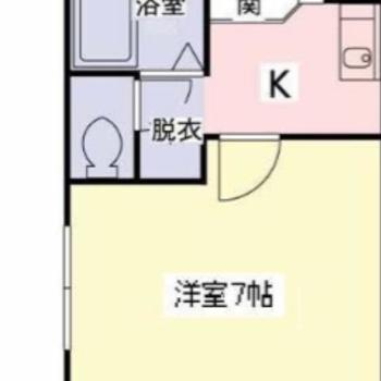 キッチンと居室が分かれているのは嬉しいですね。