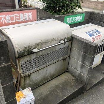 居住者専用のゴミ置き場も完備しています。