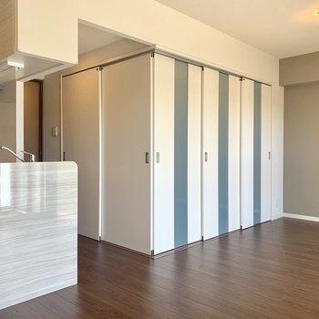 こんな感じでボックスルームみたいに。※写真は3階同間取り別部屋のものです