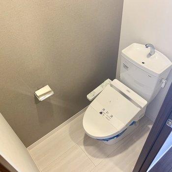 個室トイレも綺麗。※写真は3階同間取り別部屋のものです