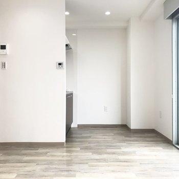 床の模様がかわいい