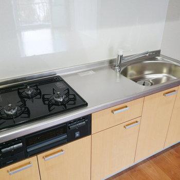 調理スペースもあって良いですね。