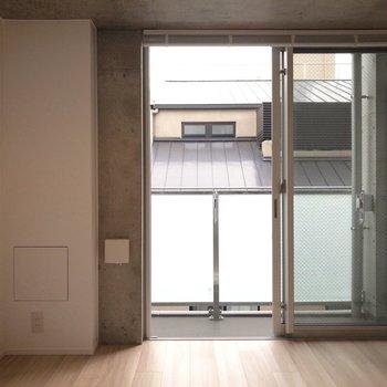 ナチュラルな感じですね。※写真は4階の同間取り別部屋のものです