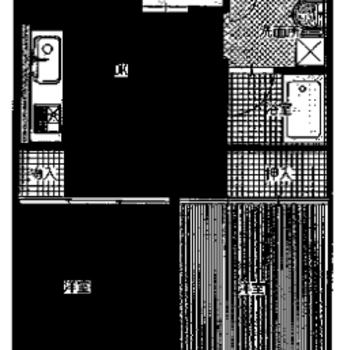 2DKのお部屋です。