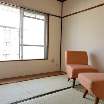 もう1つの和室。寝室として使うのがおすすめ!(※写真の家具は見本です)