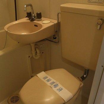 トイレは簡単なもの。※写真は前回募集時のものです